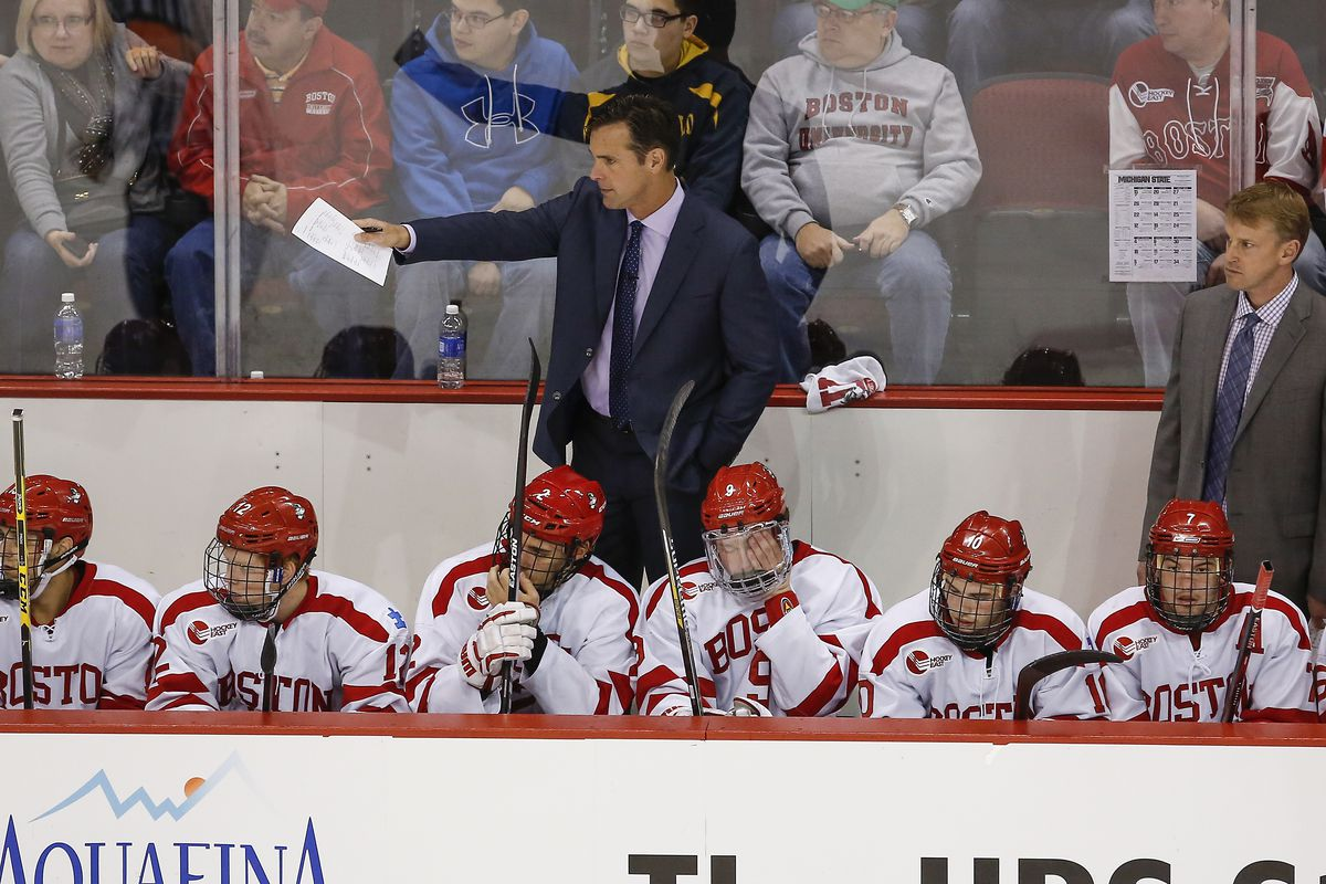 David Quinn's Terriers head to Schneider Arena for a matchup against Providence Friday night.