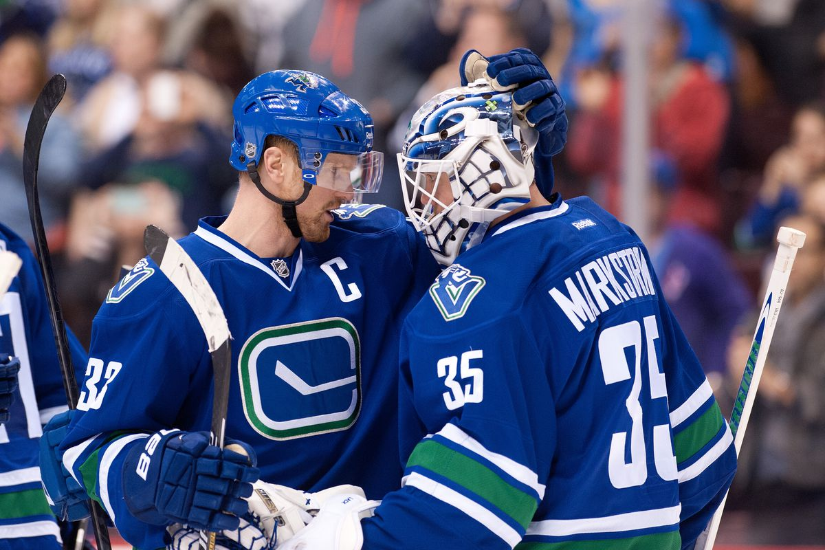 Hmm, let's find pictures of CURRENT Canucks, shall we?