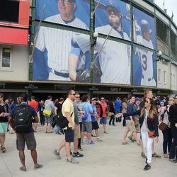 4:11 p.m. The cars.com group exiting the ballpark -