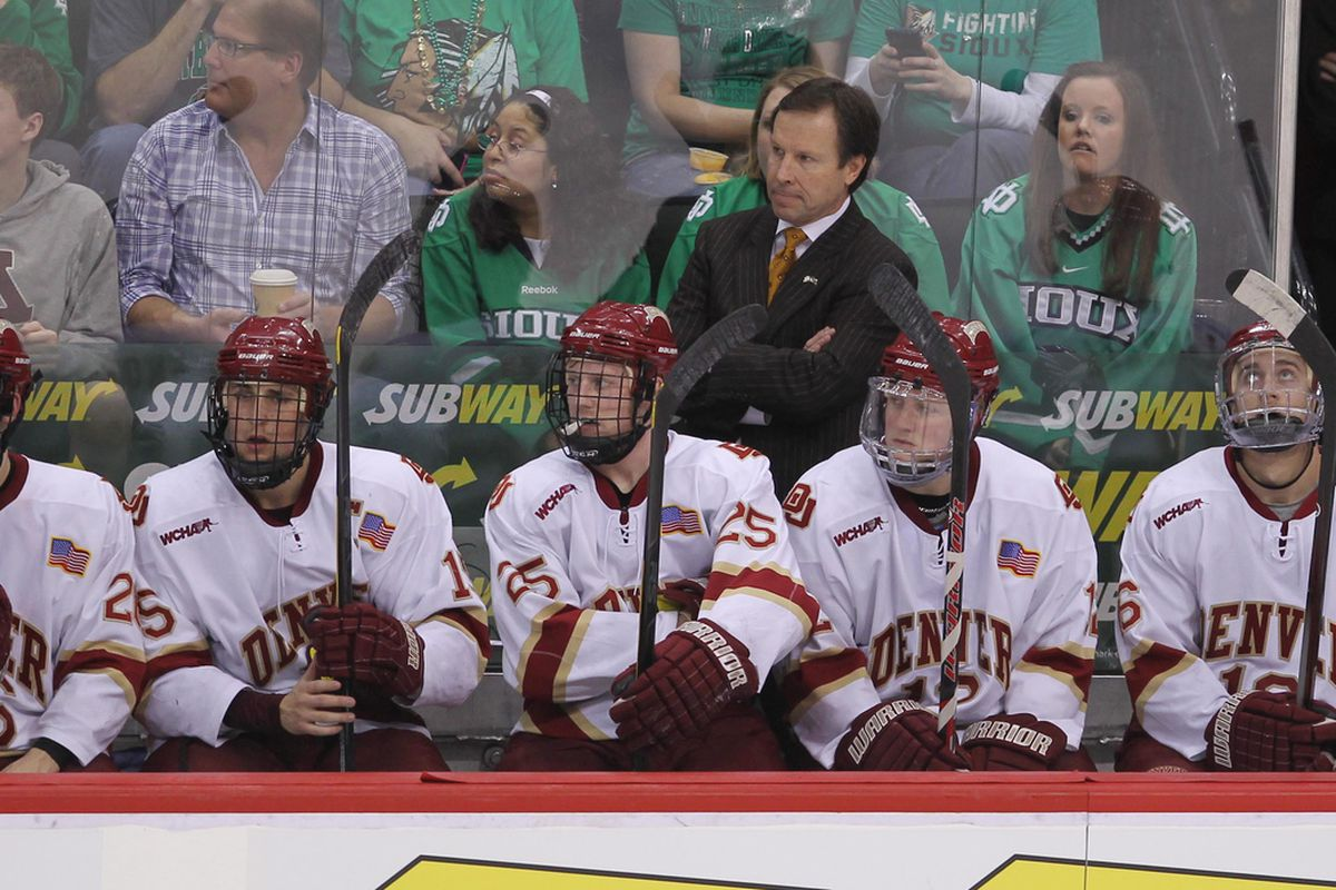 George Gwozdecky was behind the Denver bench for 19 seasons before being fired after the 2012-13 season.