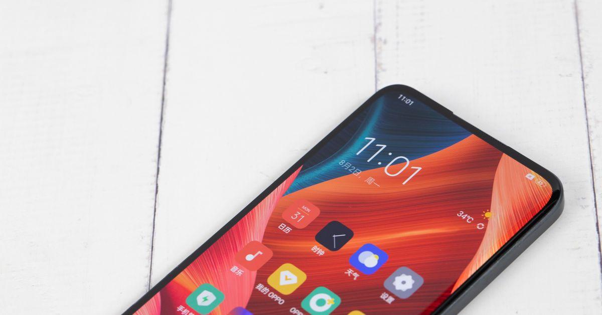 Oppo announces 'next-generation' under-display selfie camera - The Verge