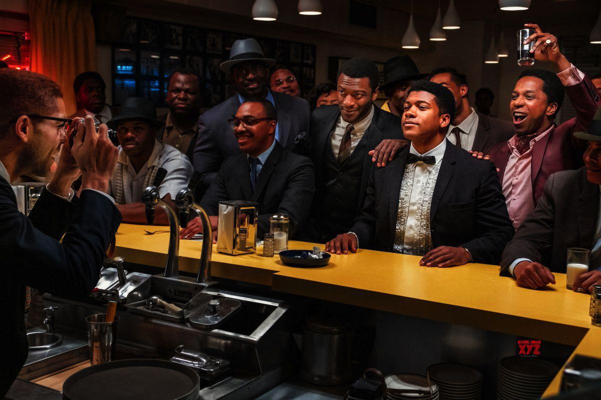 a group of men at a bar