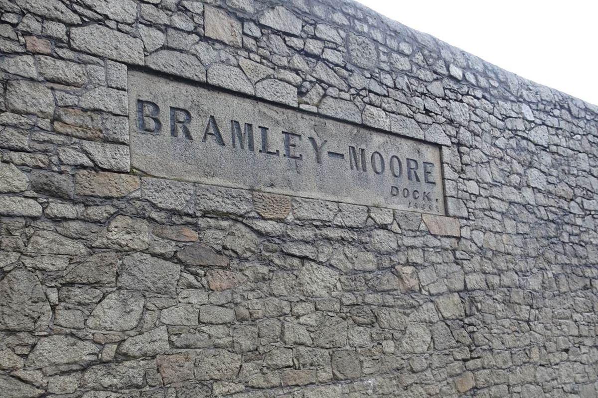 Bramley Moore wall