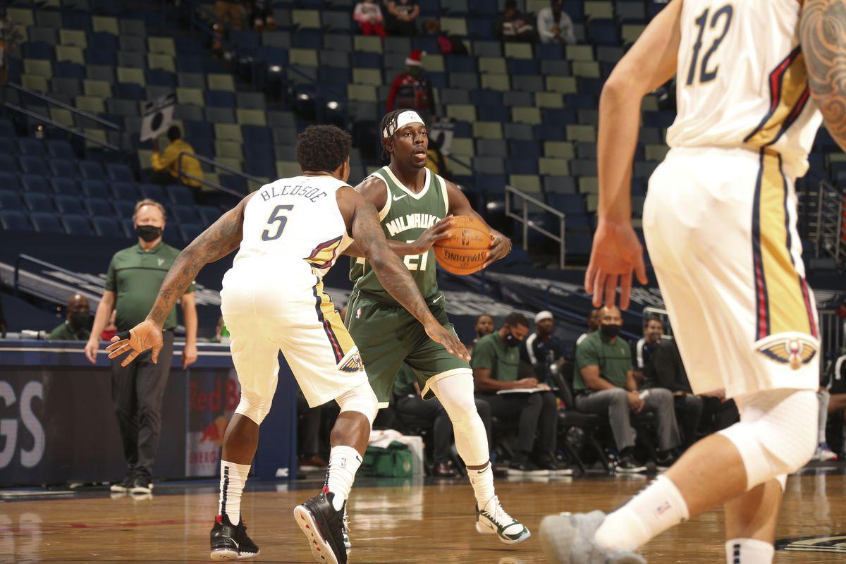 Milwaukee Bucks v New Orleans Pelicans