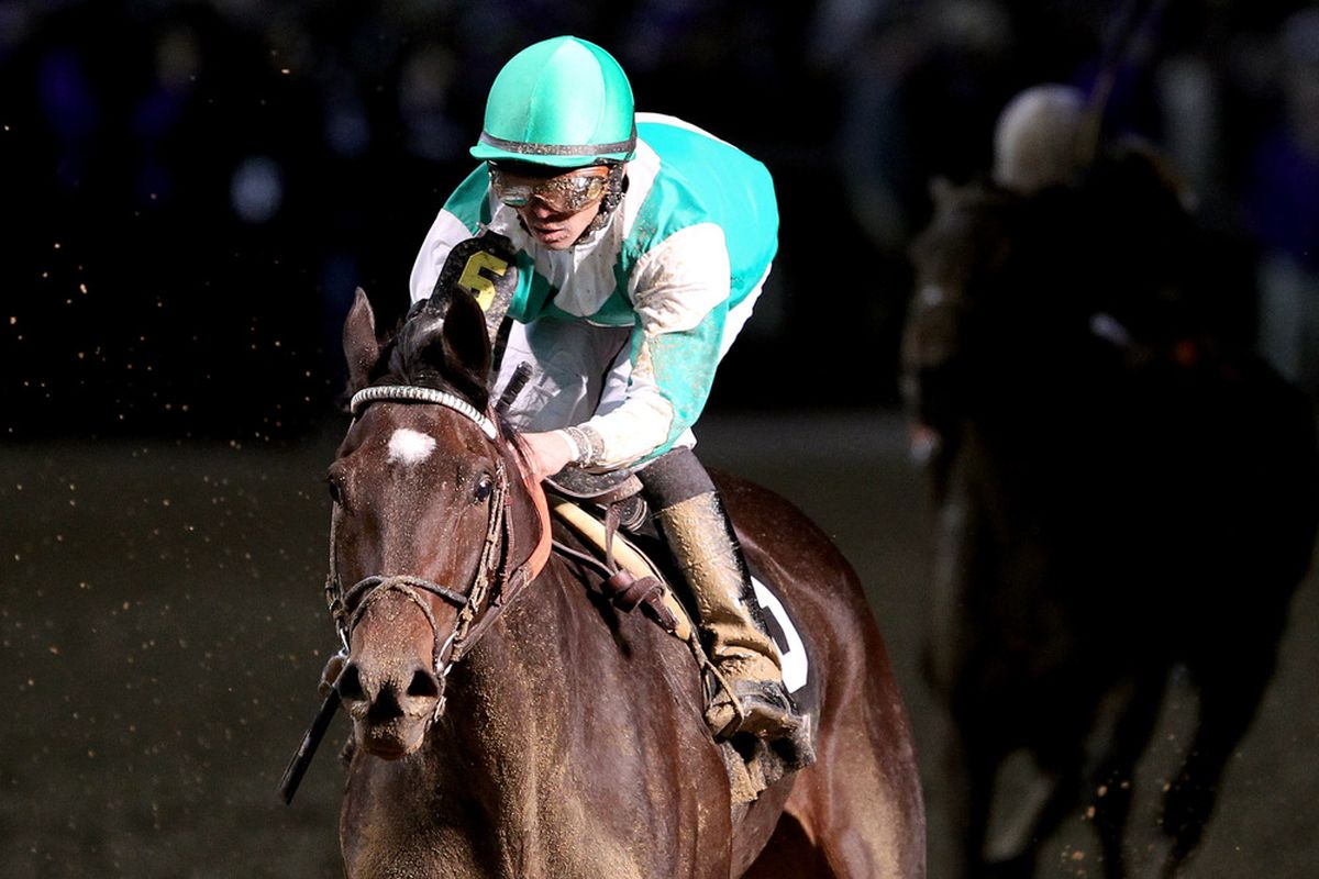 Royal Delta will race against Awesome Maria in the Delaware Handicap on Saturday afternoon.