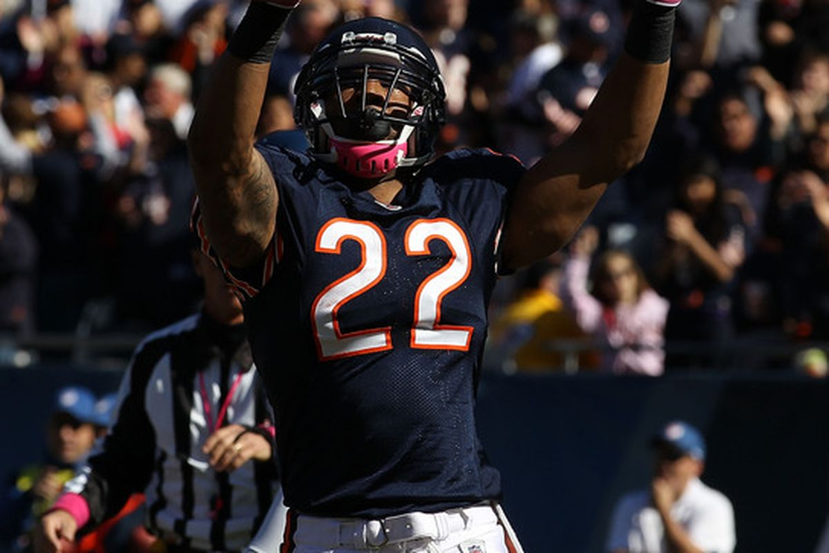 Matt Forte of the Chicago Bears. (Photo by Jonathan Daniel/Getty Images)