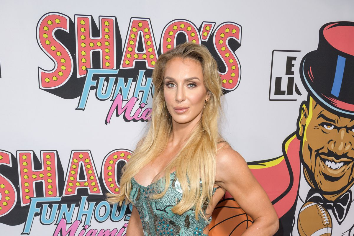 Charlotte Flair arrives at Shaq's Fun House at Mana Wynwood Convention Center on January 31, 2020 in Miami, Florida.