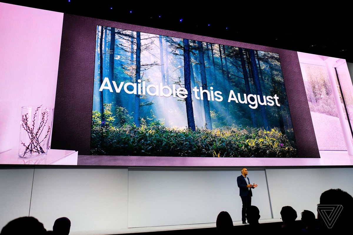 Samsung's 146-inch modular The Wall TV will be available this August