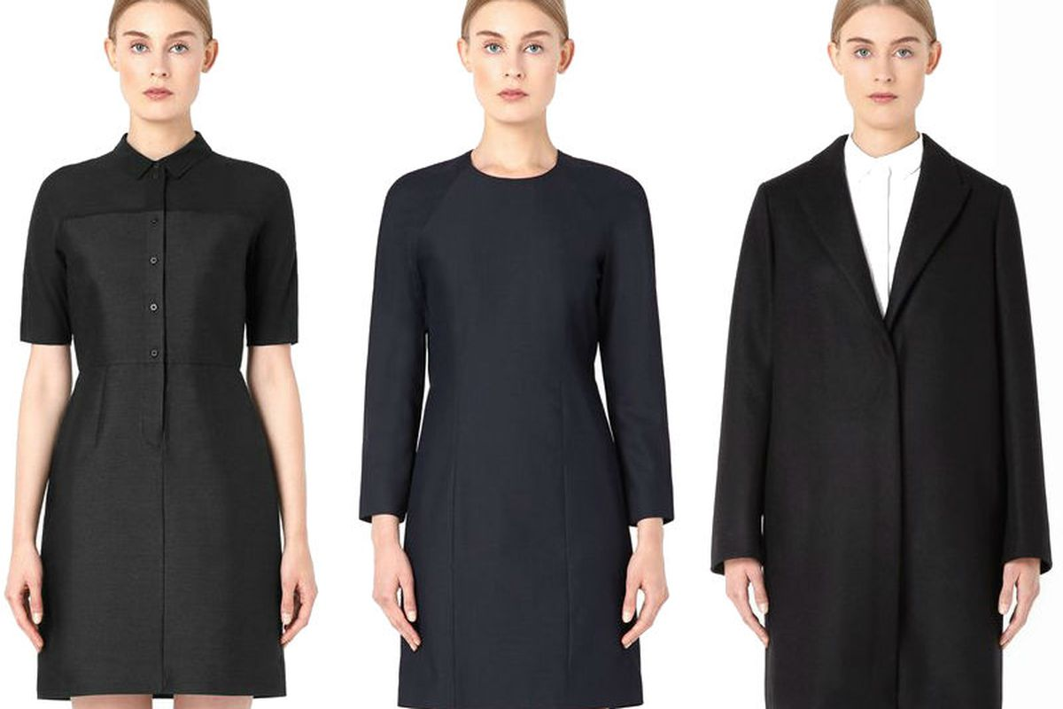 """Two dresses and a coat, available at <a href=""""http://www.openingceremony.us/products.asp?menuid=2&amp;catid=1327&amp;designerid=1892&amp;view=all"""">Opening Ceremony</a>"""