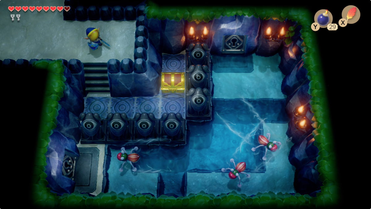 Link's Awakening Angler's TunnelStone Beak location