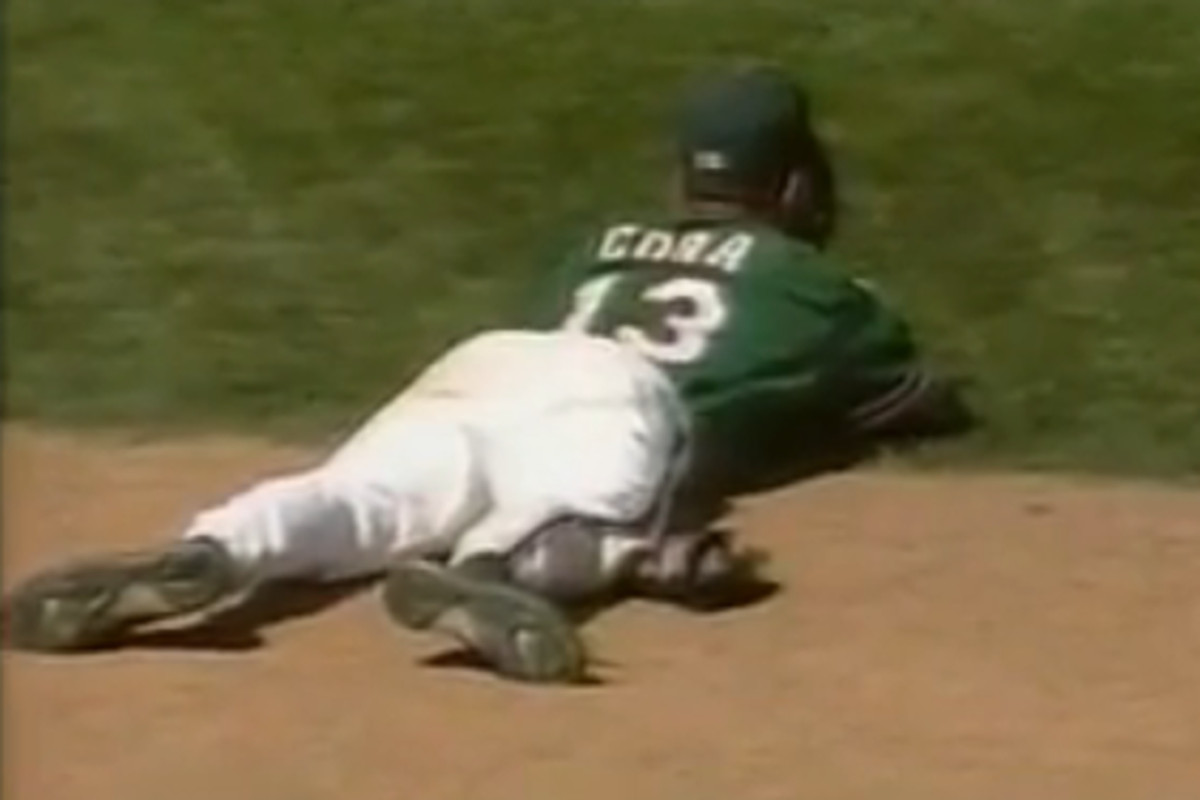 Some scrub who took the loss in the 96 CWS too hard. Don't think he made it past high A ball.