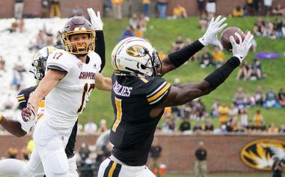 NCAA Football: Central Michigan at Missouri