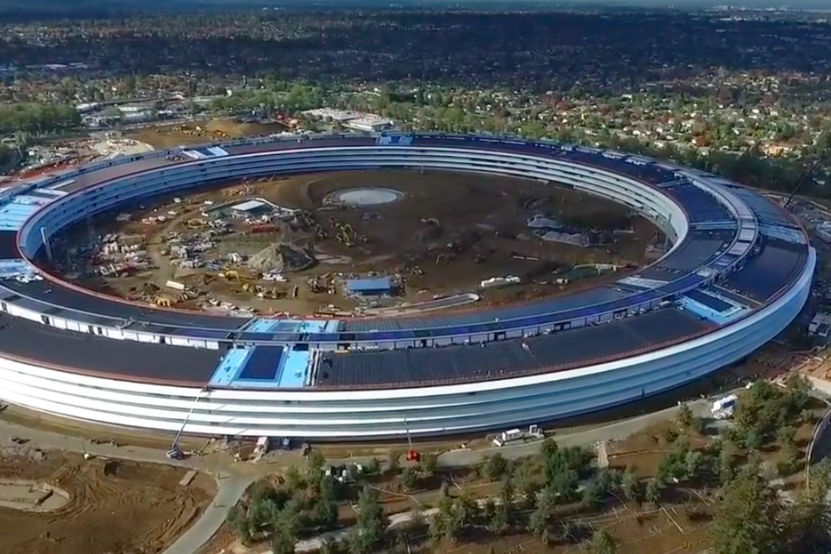 cupertino apple office. Screenshot From Sexton Videography. Drone Footage Surfaced Today Of Apple\u0027s New Cupertino Headquarters Apple Office
