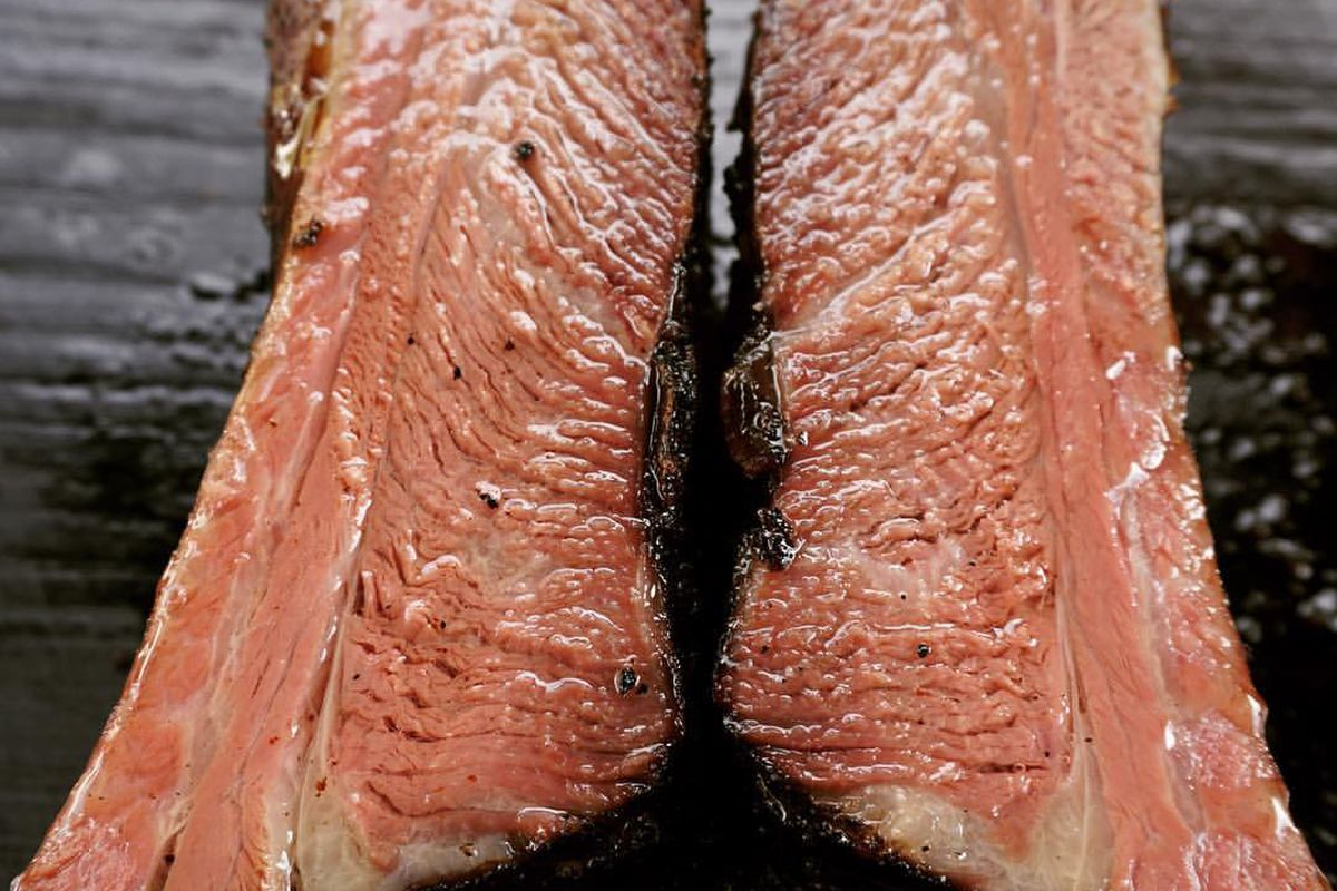 Slabs of Carnal's meats