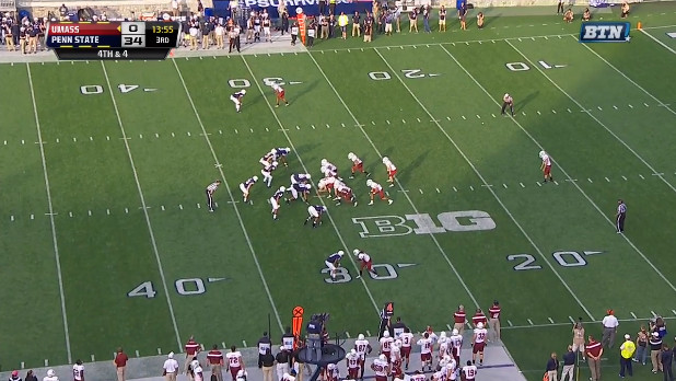 ND UMass Preview Punt
