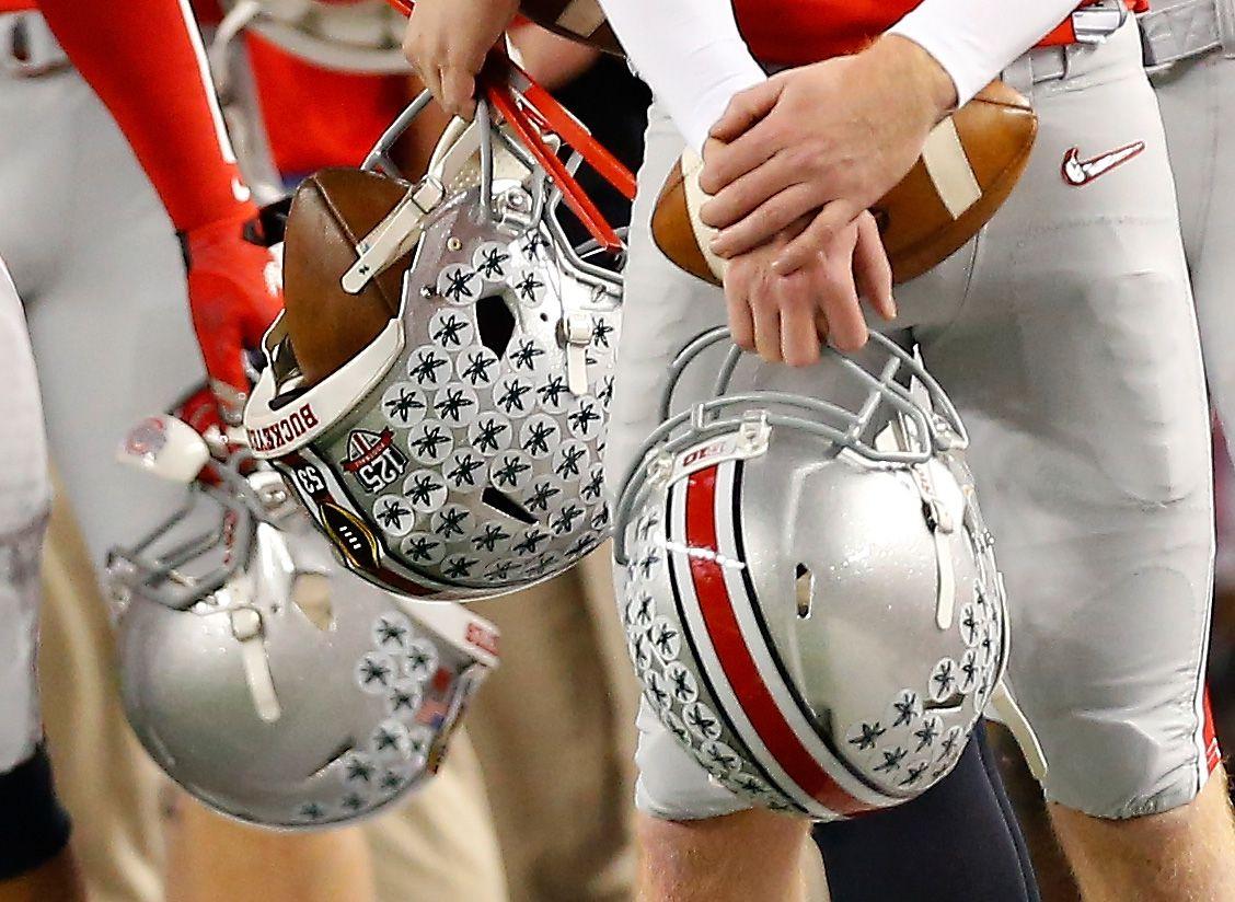 moms everywhere think ohio state s helmet stickers are marijuana