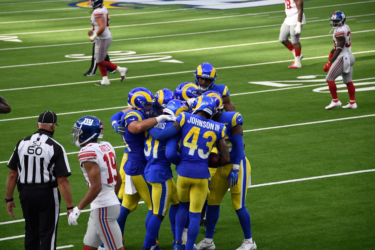 NFL: New York Giants at Los Angeles Rams