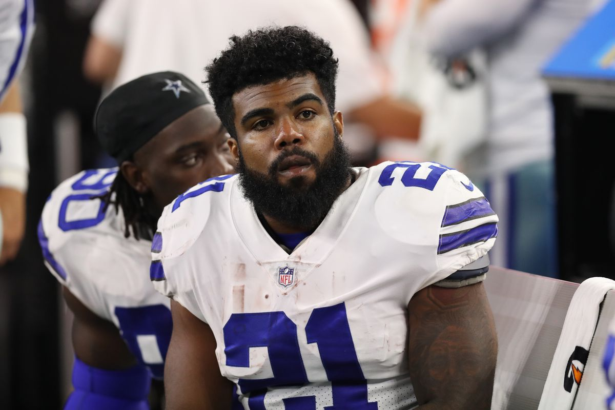 Suspension of Ezekiel Elliott : the National Football League continued