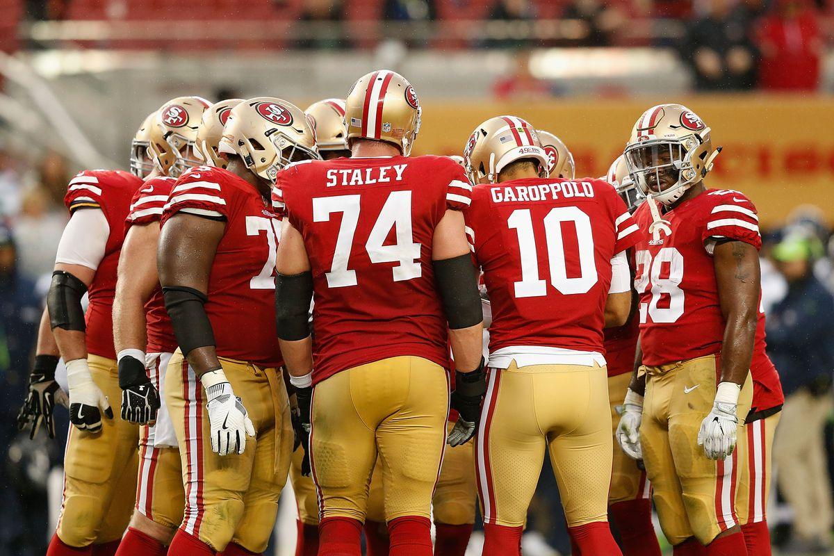 f497fa88431 The 6 sharpest NFL jerseys are bold, simple looks like the 49ers ...