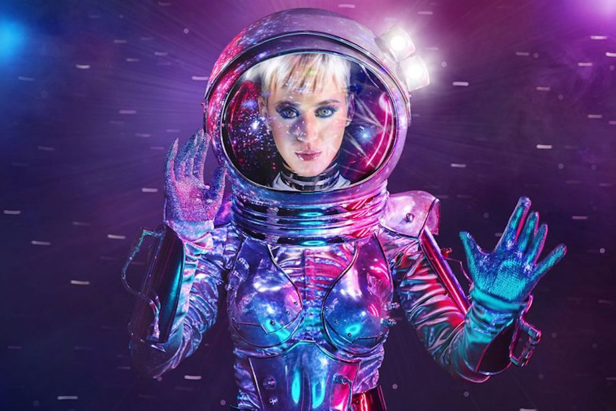Katy Perry hosted the 2017 MTV Video Music Awards.
