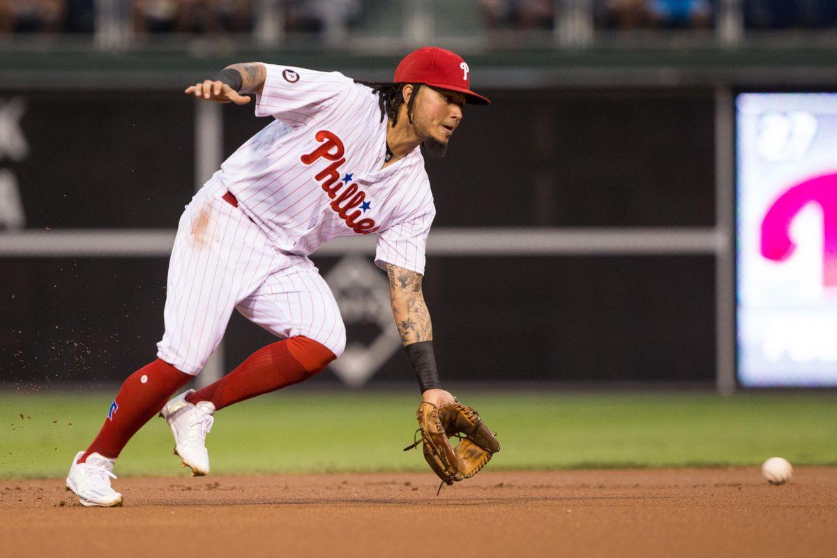MLB: Atlanta Braves at Philadelphia Phillies