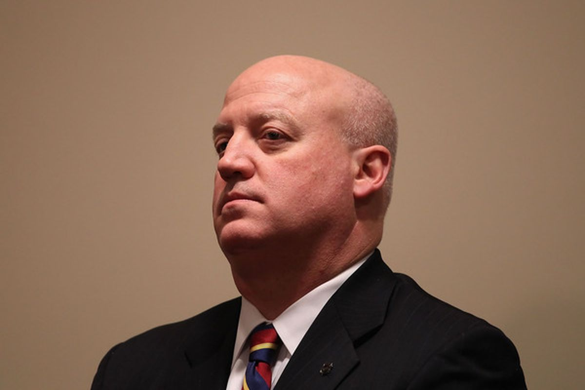 Even though Bill Daly is a lawyer, we are guessing he's sick of all the court time that has been spent on the Coyotes ownership situation. (Photo by Christian Petersen/Getty Images)