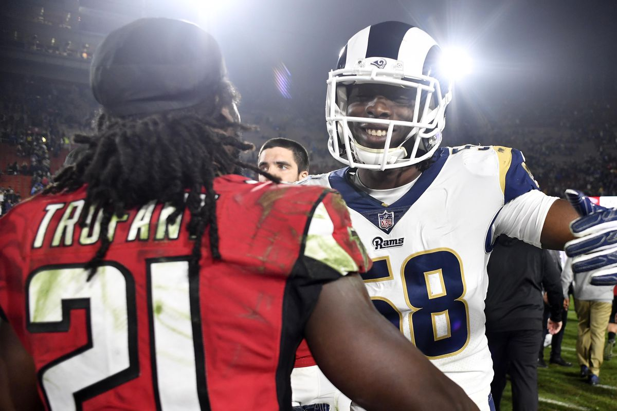 231a9822e Our takeaways from a stellar Falcons playoff win over the Rams - The ...