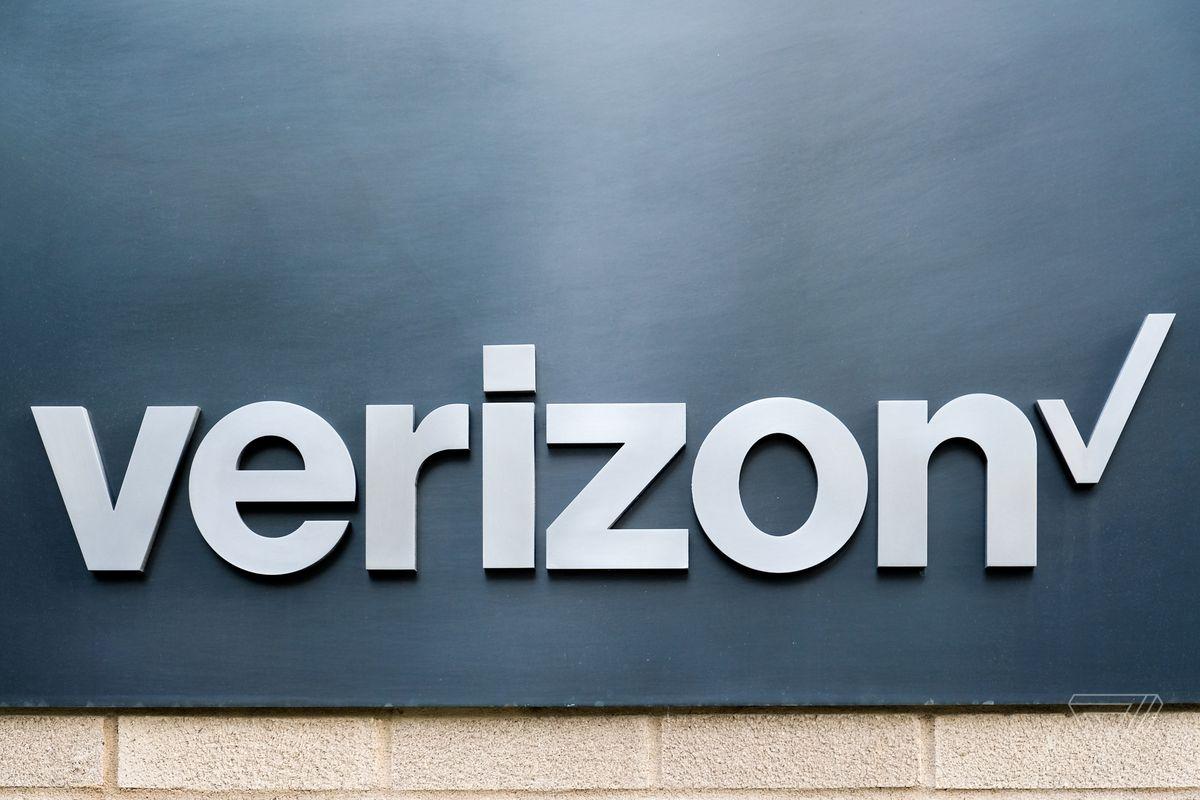 Verizon stock new logo 2017