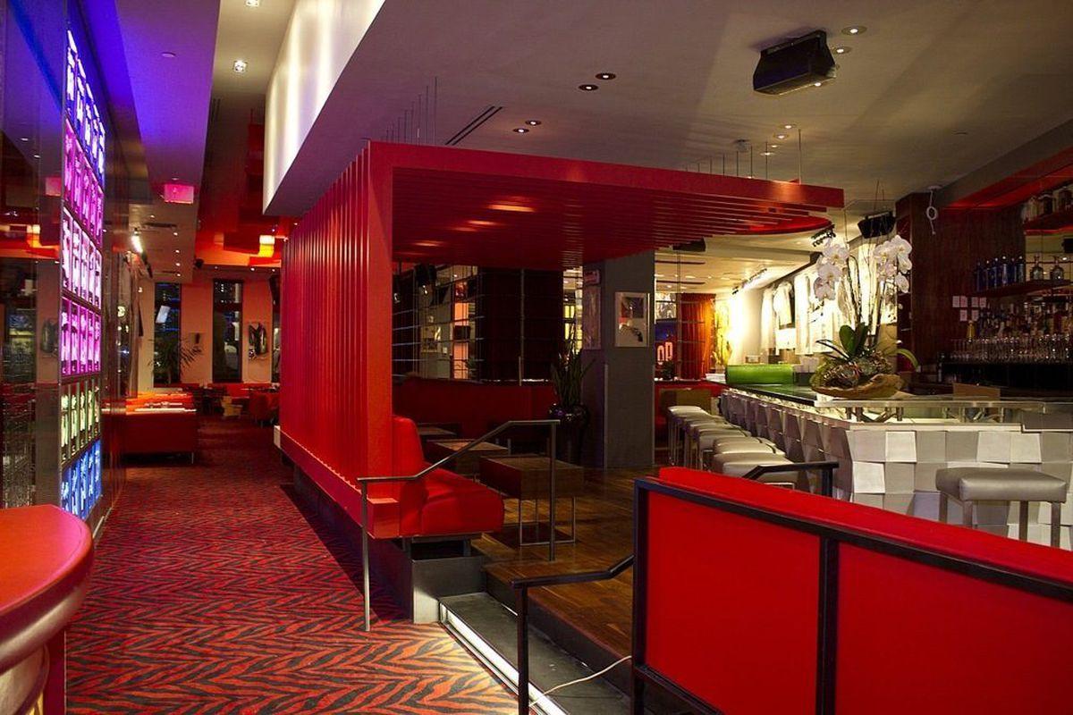Inside the new Planet Hollywood Restaurant & Bar.
