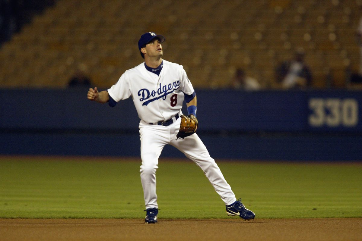 Mark Grudzielanek played parts of five seasons for the Dodgers, from 1998-2002.