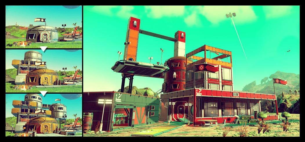 No Man's Sky - Foundation Update base building