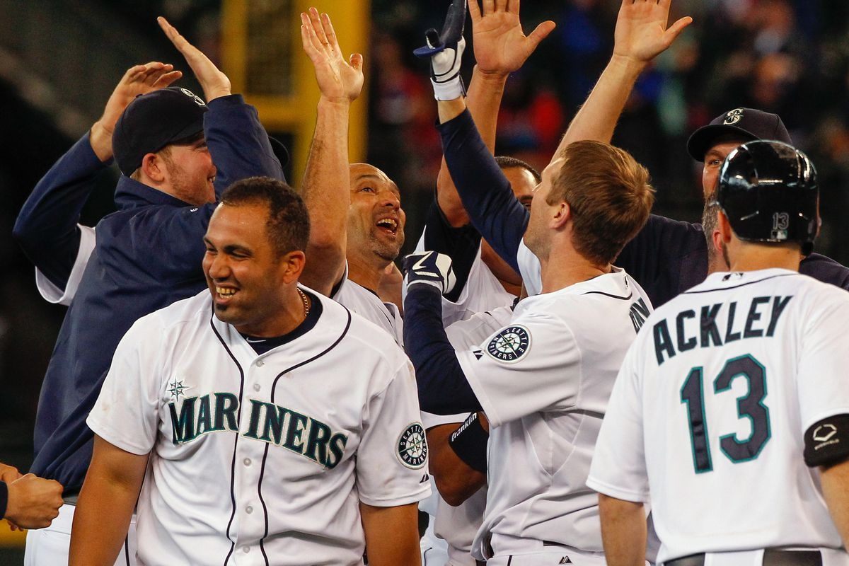 And you felt sorry for the Mariners