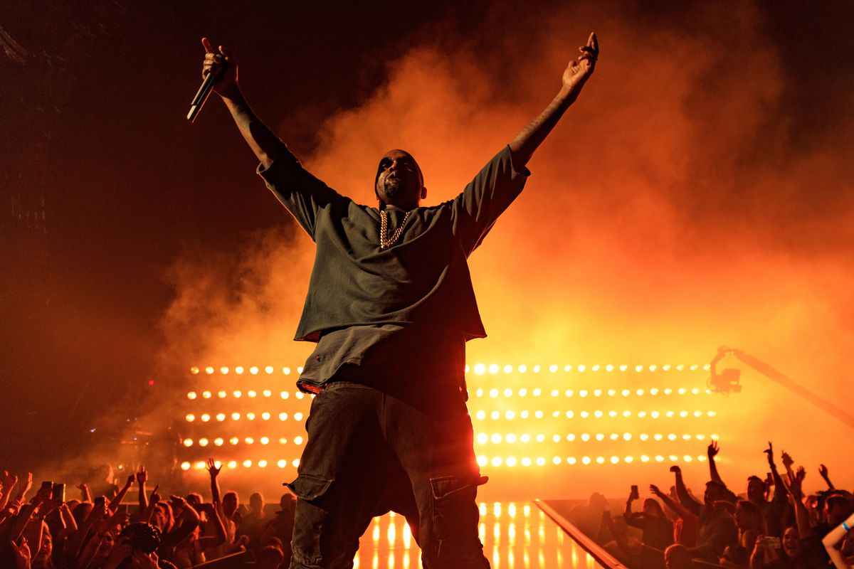 """Kanye West, """"the greatest artist of all time."""""""
