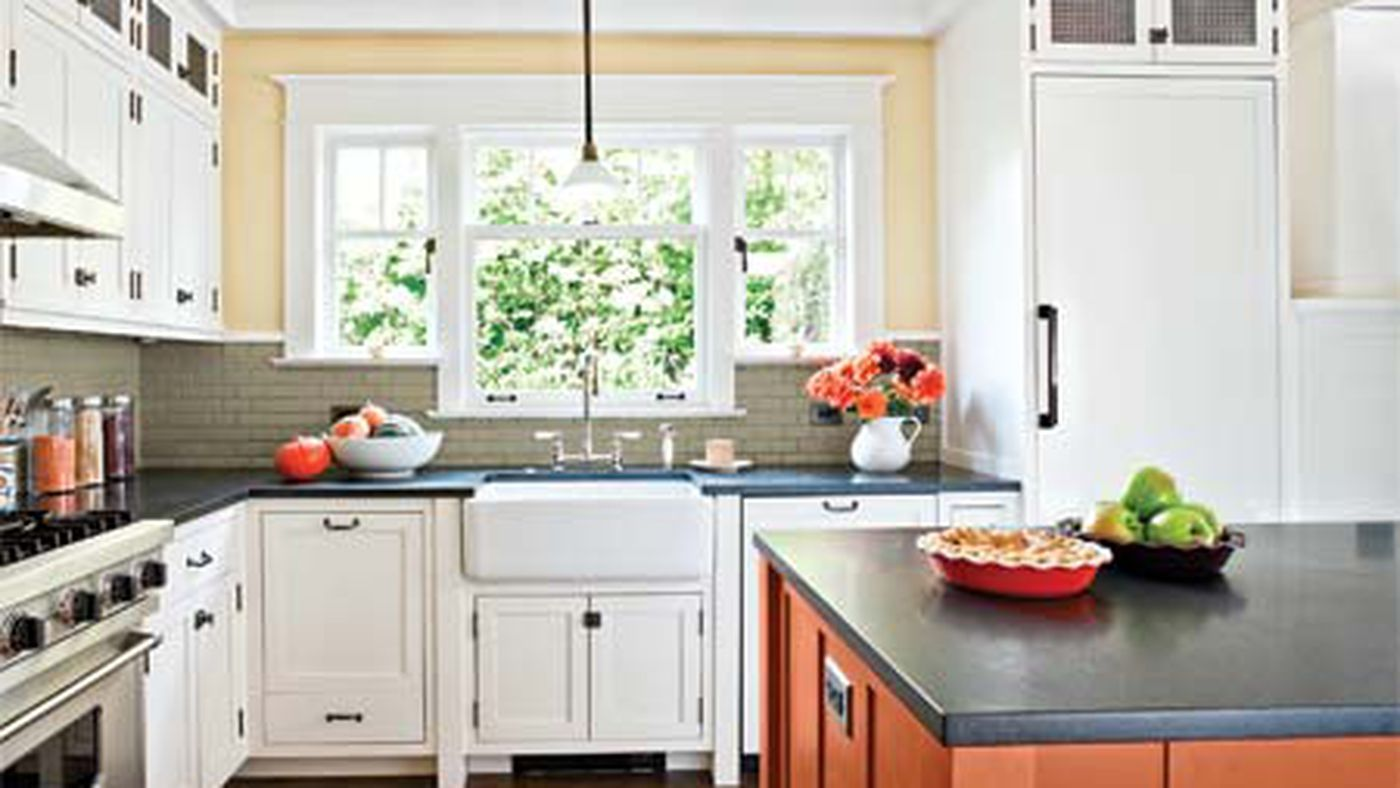 A Kitchen With Craftsman Details And A Modern Flow This Old House