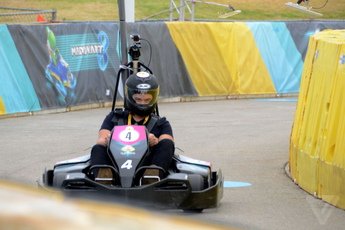 Mario Kart' in real life is real weird - The Verge