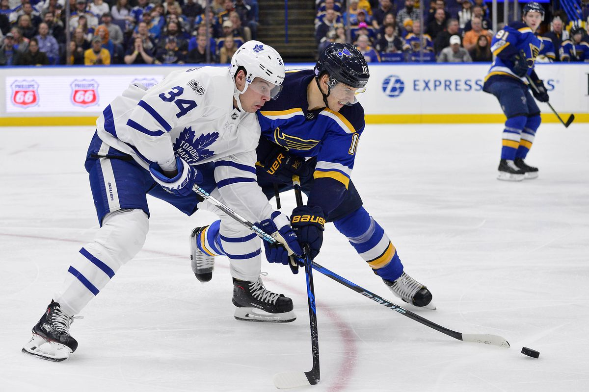 NHL: Toronto Maple Leafs at St. Louis Blues
