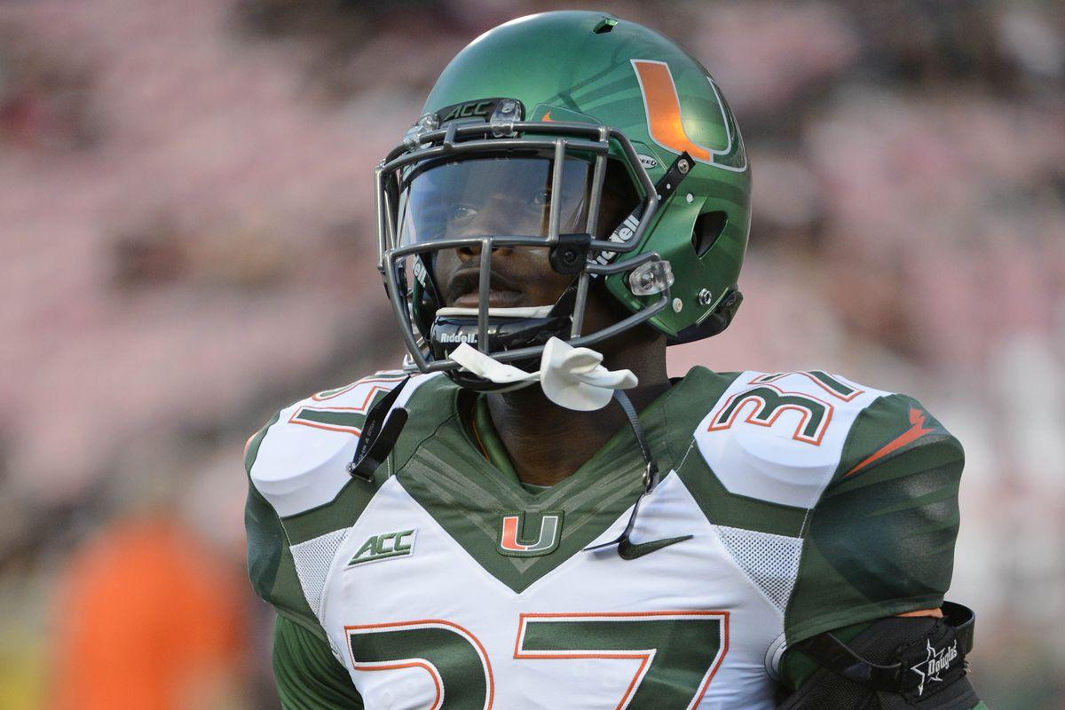 Miami Hurricanes Football 2015 NFL Draft Profile: Ladarius ...