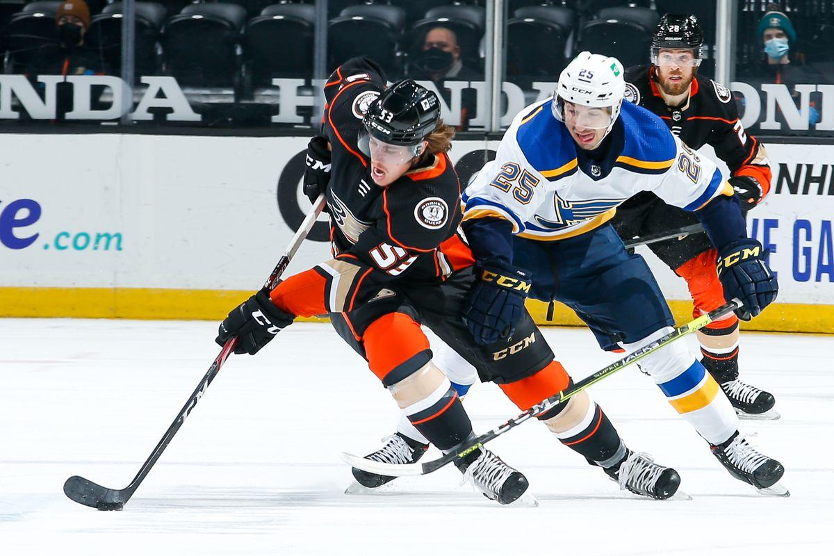 St. Louis Blues v Anaheim Ducks