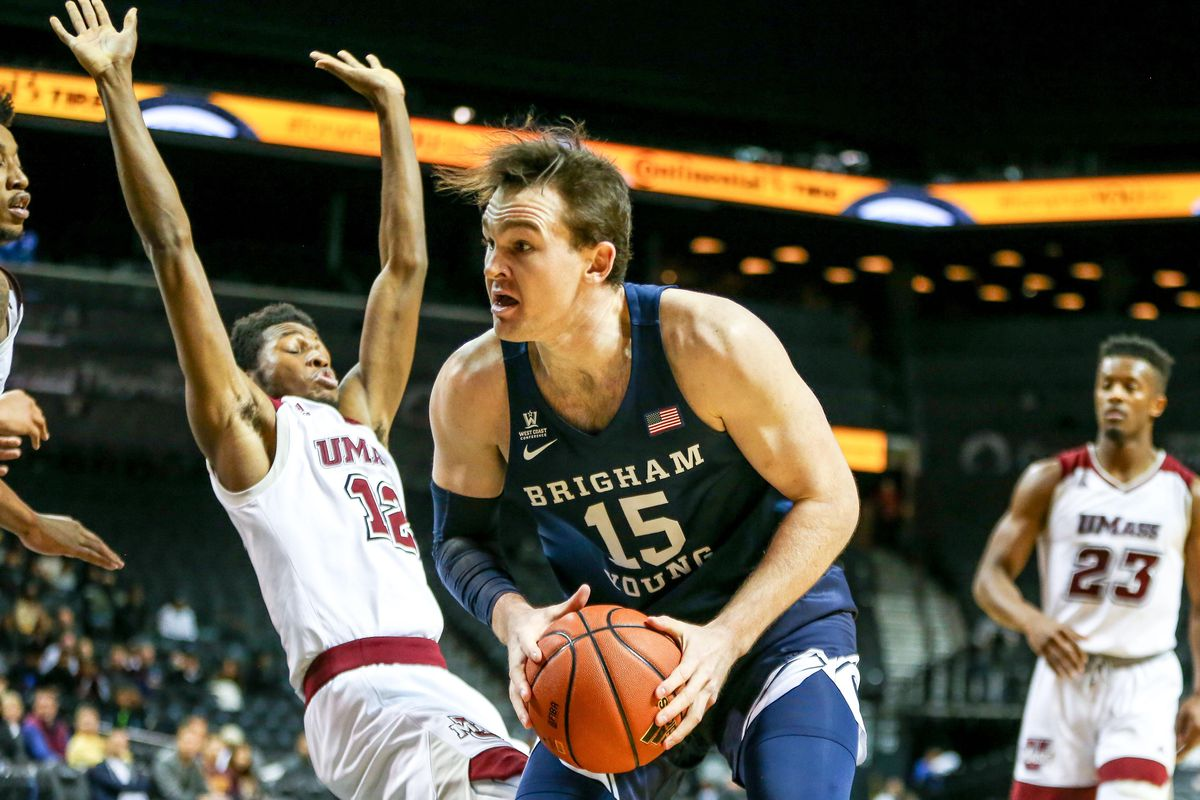 NCAA Basketball: Barclays Center Classic-BYU vs Massachusetts