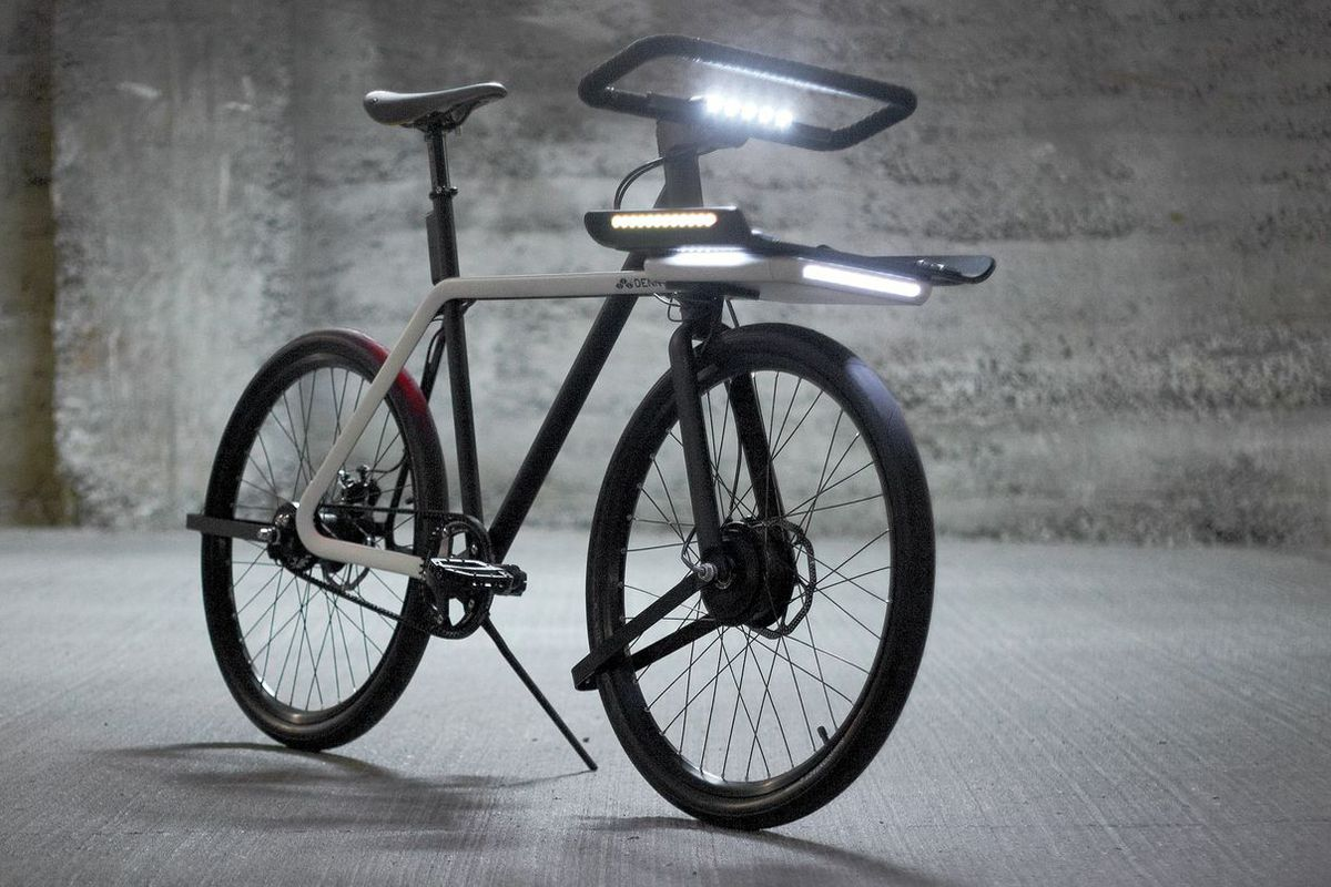 This Sleek Electric Bike Is Wonderful And Could Be Real If You Vote For It