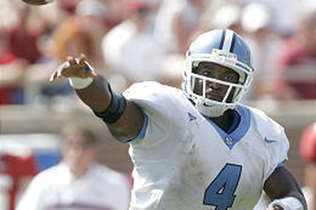 When Urban Meyer was an assistant at Notre Dame, he recruited North Carolina QB Darian Durant.