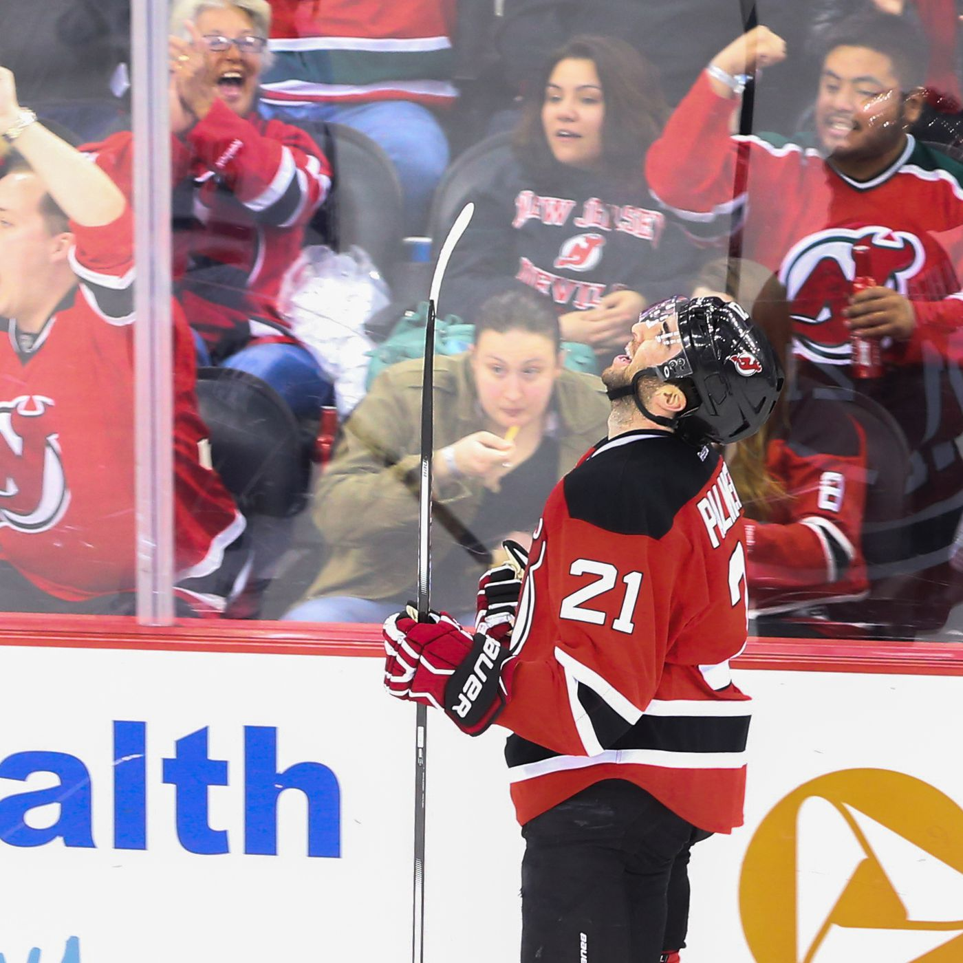 finest selection 86f6c 50248 Kyle Palmieri Re-Signs with New Jersey Devils for 5-year ...
