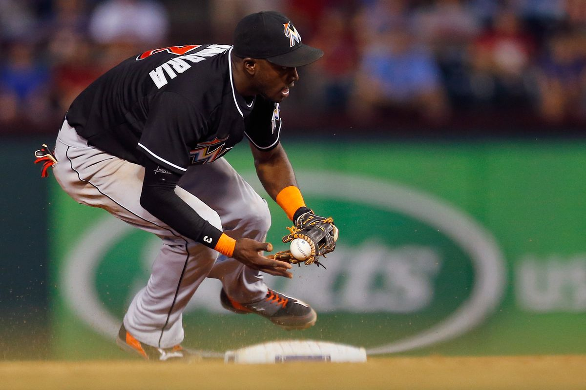How good has Adeiny Hechavarria been defensively?