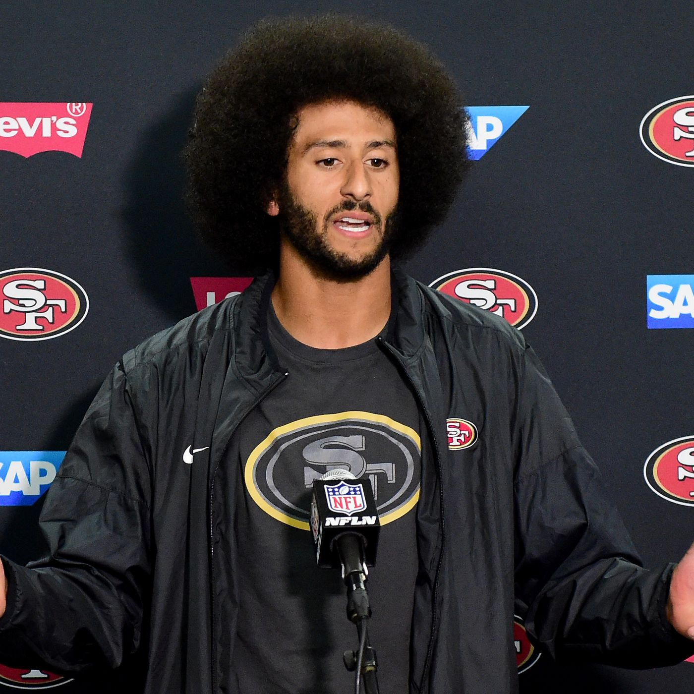 ef54b9089 A timeline of Colin Kaepernick s national anthem protest and the athletes  who joined him - SBNation.com