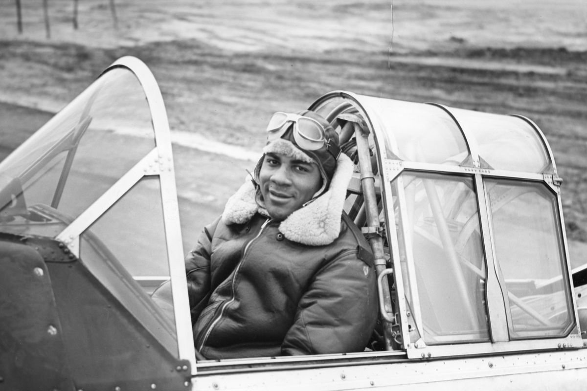 Portrait Of Tuskegee Cadet James R Smith