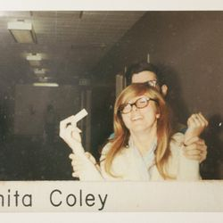 Anita Coley was the lab's admin; she gave Fidler lots of the information needed to recreate the lab