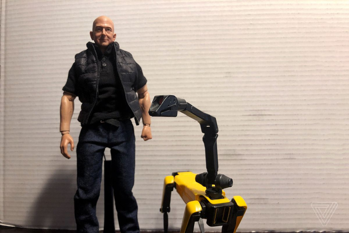 disturbing Jeff Bezos action figure ...