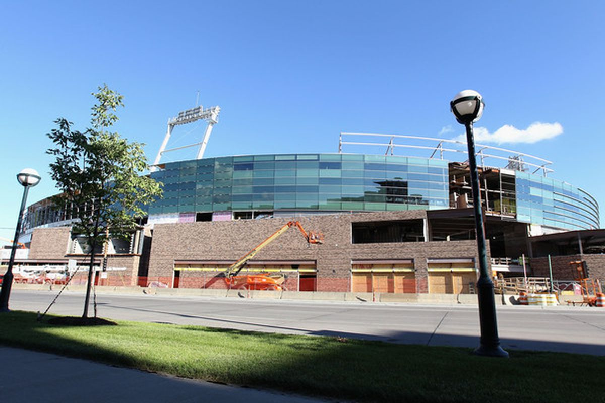 Omaha's TD Ameritrade Park will host college hockey's first outdoor game of 2013