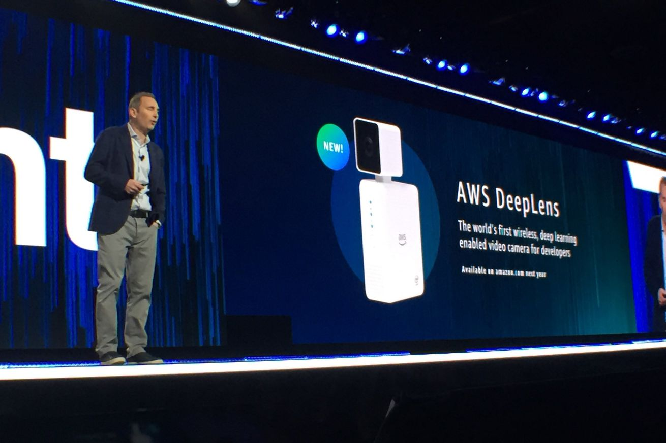 amazon unveils 250 ai camera and machine learning tools for businesses