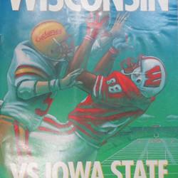 Wisconsin vs. Iowa State Football, September 21, 1991